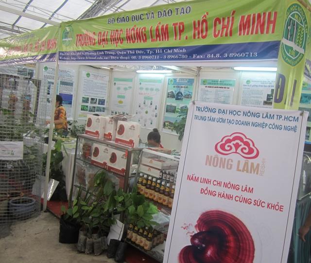 Linh Chi Nông Lâm tham gia Hội chợ - Triển lãm Giống cây trồng Tp. HCM